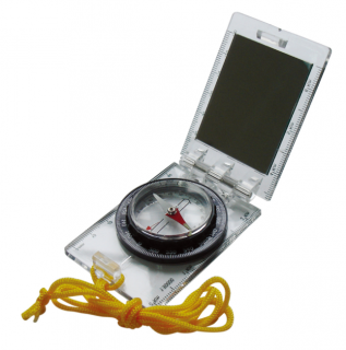 Компас AceCamp Foldable Map Compass With Mirror