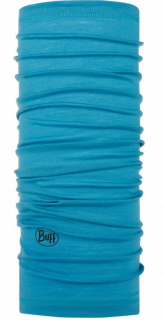 Бандана Buff Lightweight Merino Wool Buff® solid scuba blue шерстяная