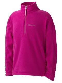 Куртка Marmot Girl's Rocklin 1/2 Zip дет. флисовая