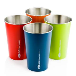 Кружка GSI outdoors Glacier Stainless Pint сталь