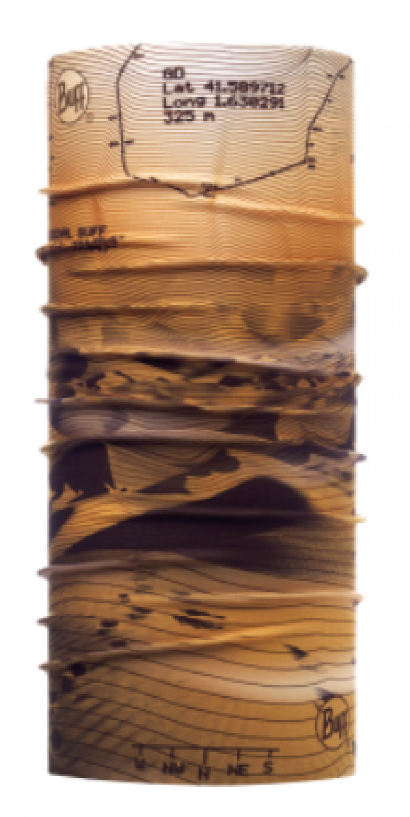 Бандана Buff HIGH UV BUFF® Trail Desert Унисекс летняя