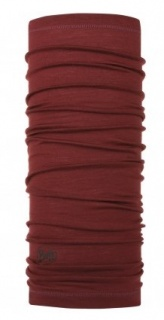 Бандана Buff Lightweight Merino Wool Buff® SOLID VINE шерстяная SOLID VINE