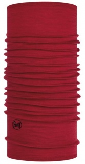 Бандана Buff Lightweight Merino Wool Buff® SOLID RED шерстяная SOLID RED