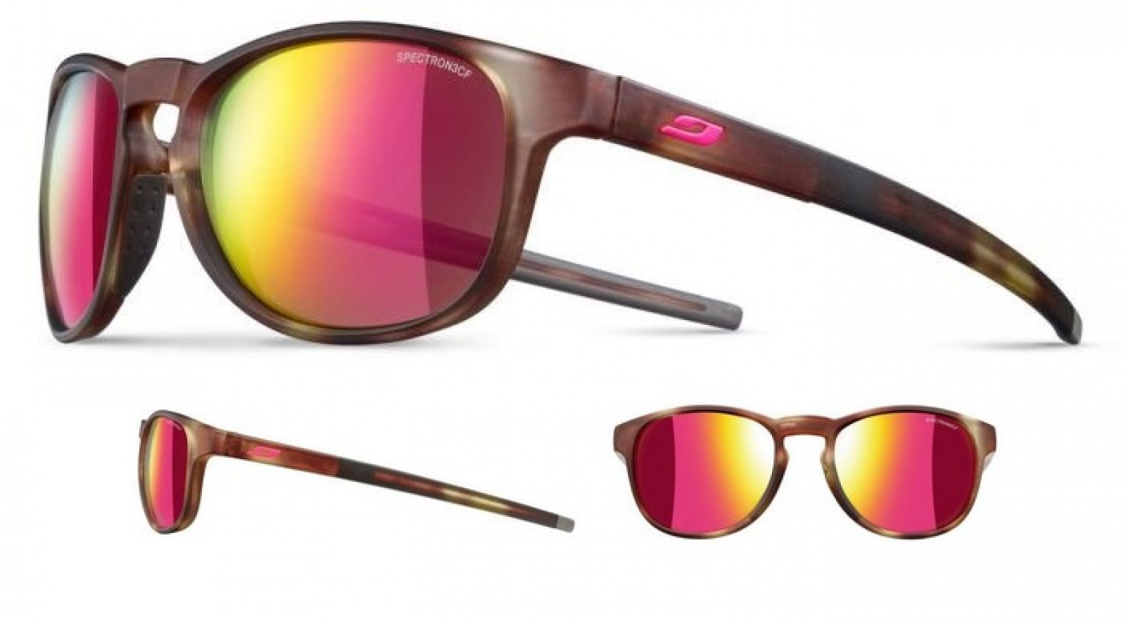 Очки Julbo Resist SP3CF Tortoise Brown Pink