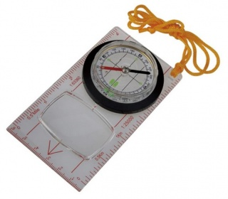 Компас AceCamp Fluorescent Map Compass