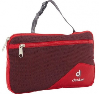 Несессер Deuter Мини-несессер Wash Bag Lite II fire-aubergine
