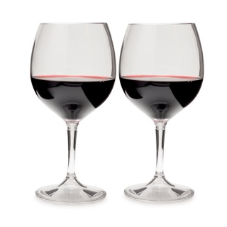 Набор бокалов GSI outdoors Nesting Red Wine Glass Set пластик