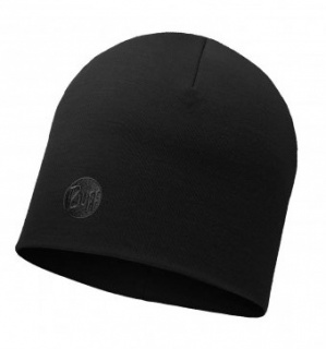 Шапка Buff Heavyweight Merino Wool Hat Buff® SOLID BLACK шерстяная