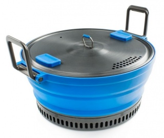 Котелок GSI outdoors Escape HS 2L Pot складной Blue