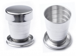 Складной стакан AceCamp SS Collapsible Cup 60 ml