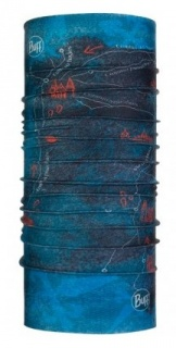 Бандана Buff CAMINO COOLNET UV+ peninsula denim летняя peninsula denim