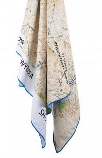 Полотенце Lifeventure SoftFibre Travel Towel Snowdon с рисунком