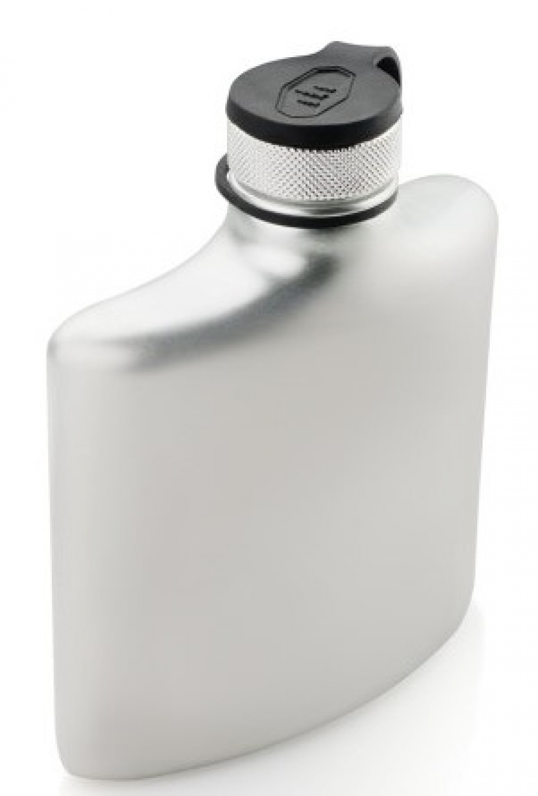 Фляга GSI outdoors Glacier Stainless Hip Flask 6 Fl.Oz. сталь