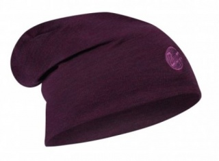 Шапка Buff Heavyweight Merino Wool Loose Hat Buff® PURPLISH MULTI STRIPES шерстяная PURPLISH MULTI STRIPES
