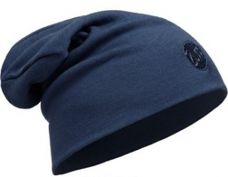 Шапка Buff Heavyweight Merino Wool Loose Hat Buff® DENIM шерстяная