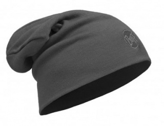 Шапка Buff Heavyweight Merino Wool Loose Hat Buff® SOLID GREY шерстяная