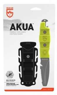 Нож Gear Aid Akua River Knife с ножнами green